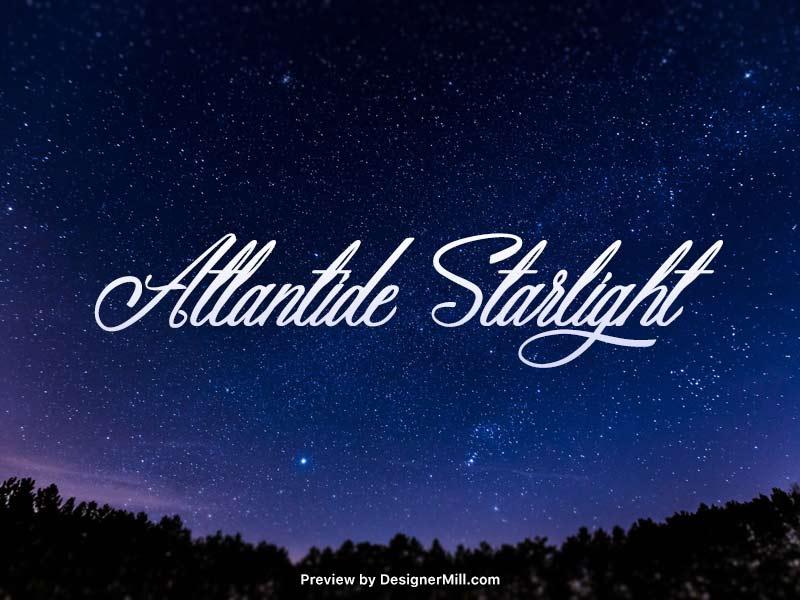 Atlantide Starlight – Free Font