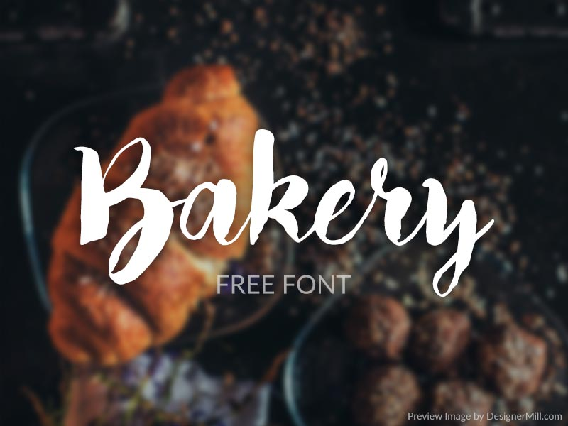 Bakery – Free Font