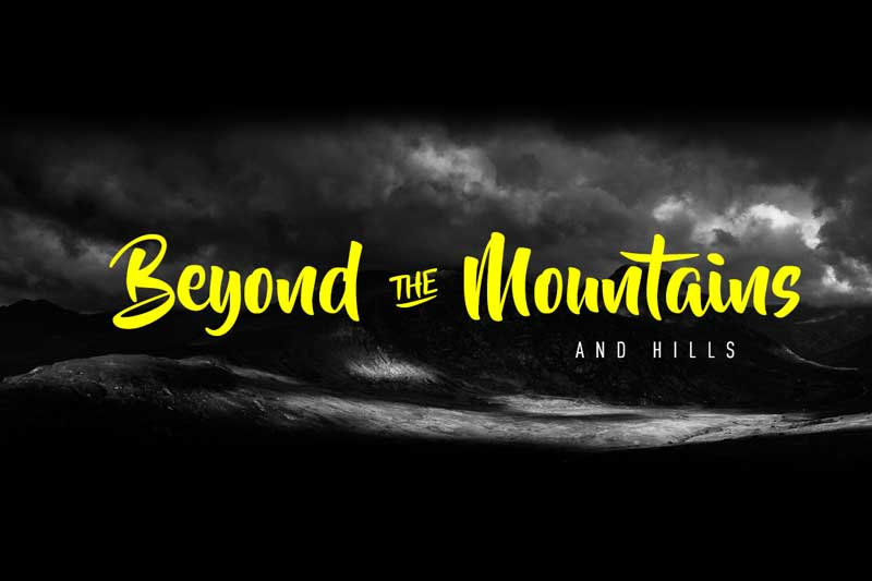 Beyond The Mountains – Free Font