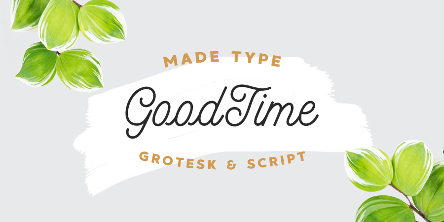 MADE Goodtime Free Font