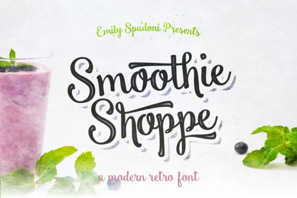 Smoothie Shoppe Free Typeface