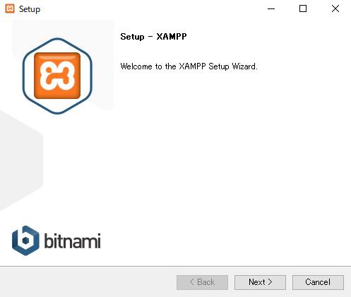 xamppセットアップ