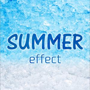 Photoshopでつくる、夏にぴったりなひんやりテキストエフェクト7選